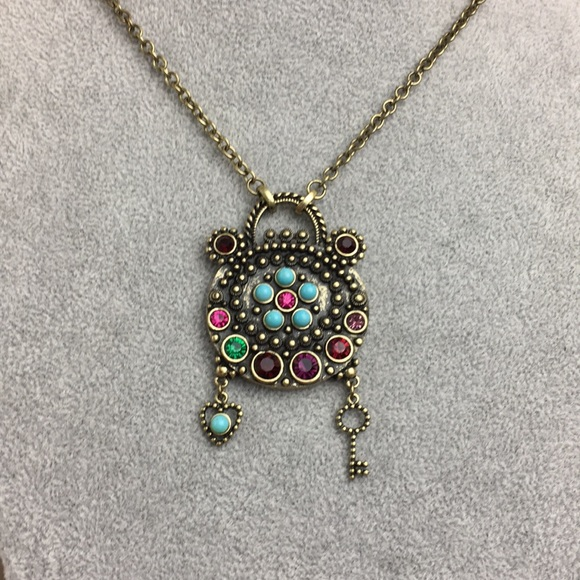db4c990e86 Jewelmint Jewelry | Jewel Mint Purse Pendant Necklace Large | Poshmark